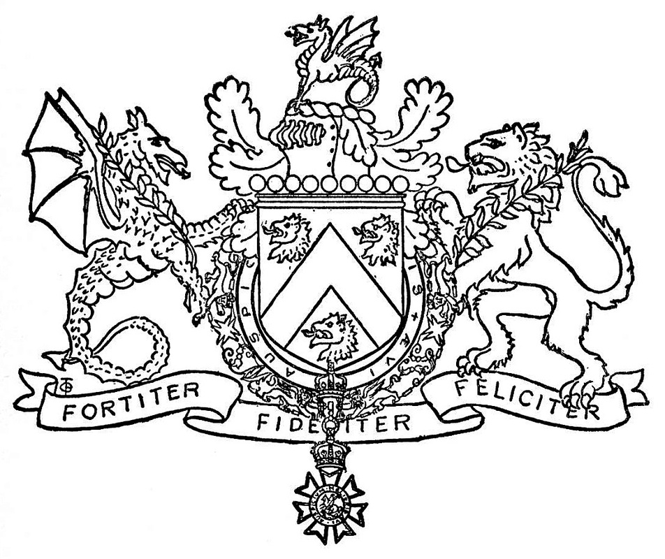 ... the crest and left supporter. Original in Library and Archives Canada